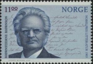 Bjørnstjerne Bjørnson (1832-1910) writer