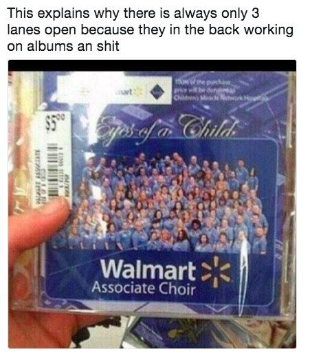 Only at Walmart!
