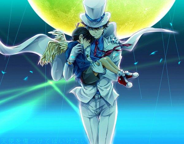 Tags: Anime, Fanart, Detective Conan, Edogawa Conan, Kaitou Kid
