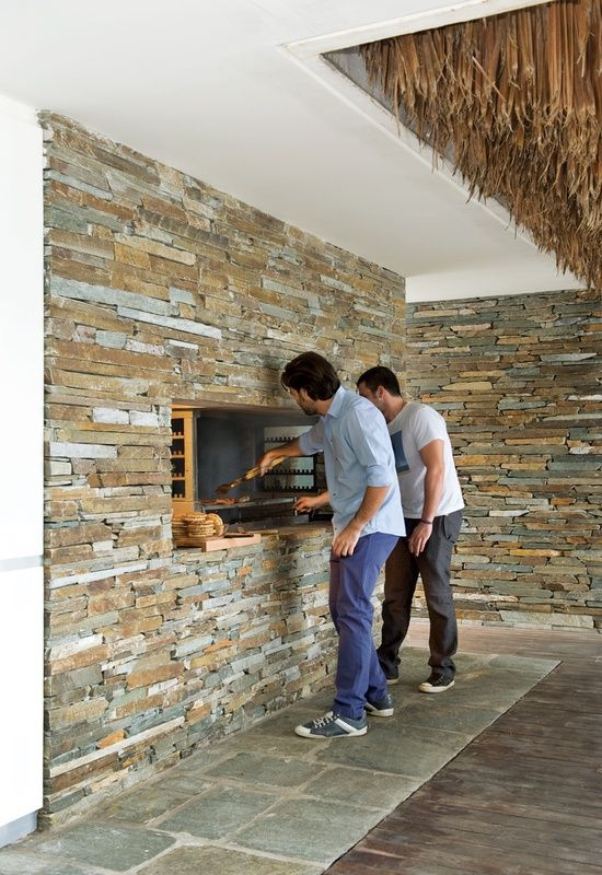 wood and slate together walls - Google Search