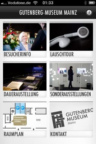App vom Gutenberg-Museum Mainz