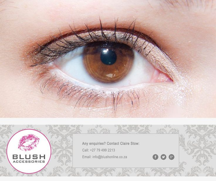 White eyeliner makes your eyes look fresh even when you feel a bit worn down. Try it, it really works! #Blush #MakeUpTip #Mondays