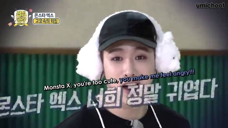 [ENG SUB] 160402 Monsta X Fan Heart Attack Idol TV Game Cut