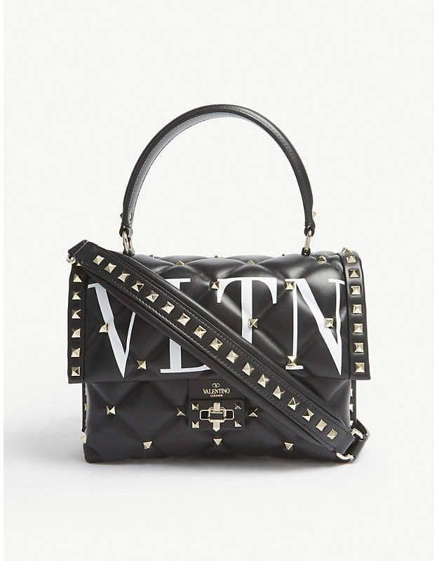 0b641730a09 Valentino Candystud quilted leather tote, Valentino Garavani studded bag # Valentino #valentinoeveningbags
