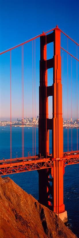 Golden Gate Bridge San Francisco  Rode a bicycle across this beauty!