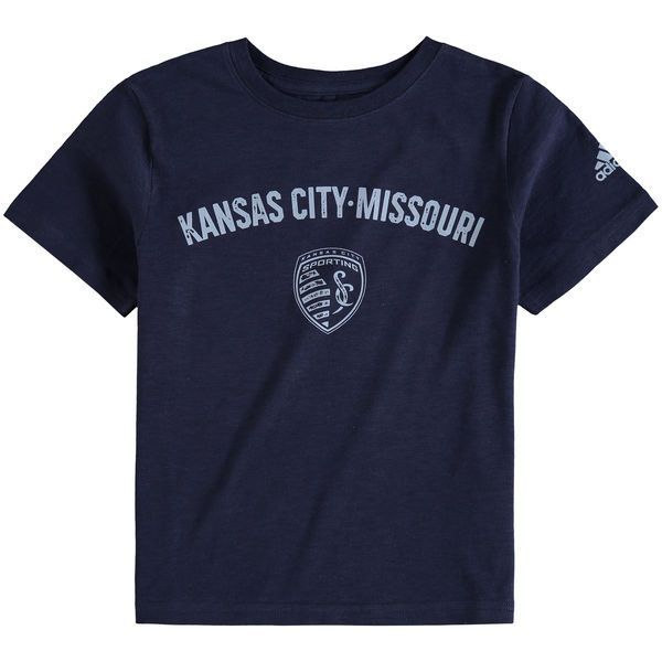Sporting Kansas City adidas Preschool City Worn Slub T-Shirt - Navy - $19.99