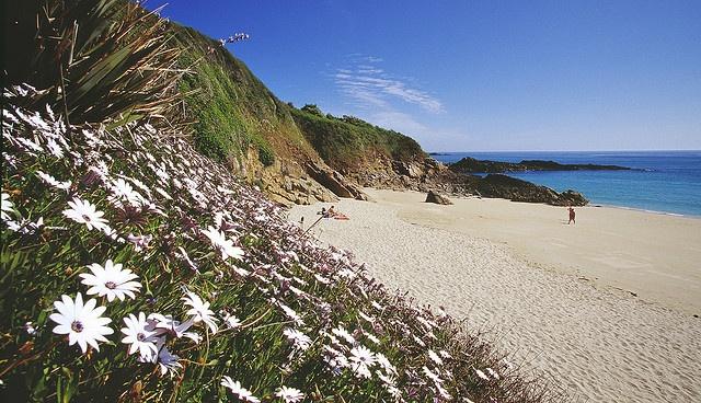 Belvoir Bay by Herm Island, via Flickr