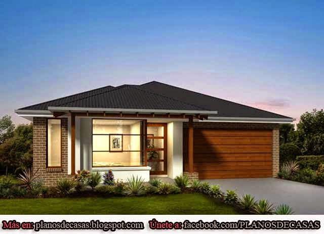 Planos de casas unifamiliares de un piso pte exterior - Planos casas unifamiliares ...