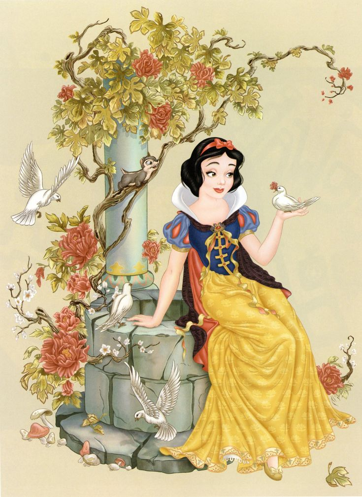 Snow White by Pedro Astudillo (from The Art of the Disney Princess)