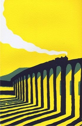 Yellow Ribblehead by Ian Scott Massie