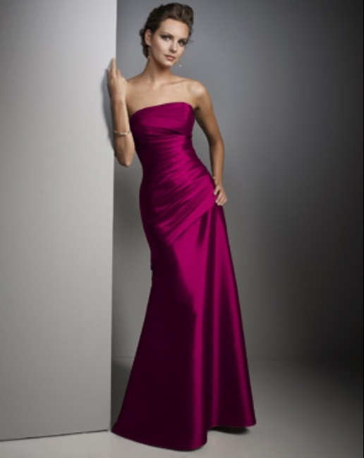 Fuschia Bridesmaid Dress
