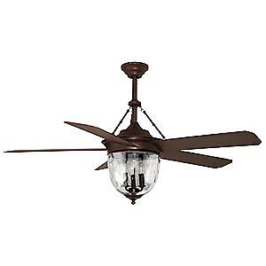 Possibly for the second room. Still a beautiful light but use5ful ceiling fan. Litex 52-in Aged Bronze Downrod Mount Ceiling Fan with Light Kit and Remote at Lowe's $263.99