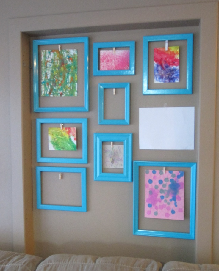 10 best images about display ideas on pinterest kid art for I need art for my walls