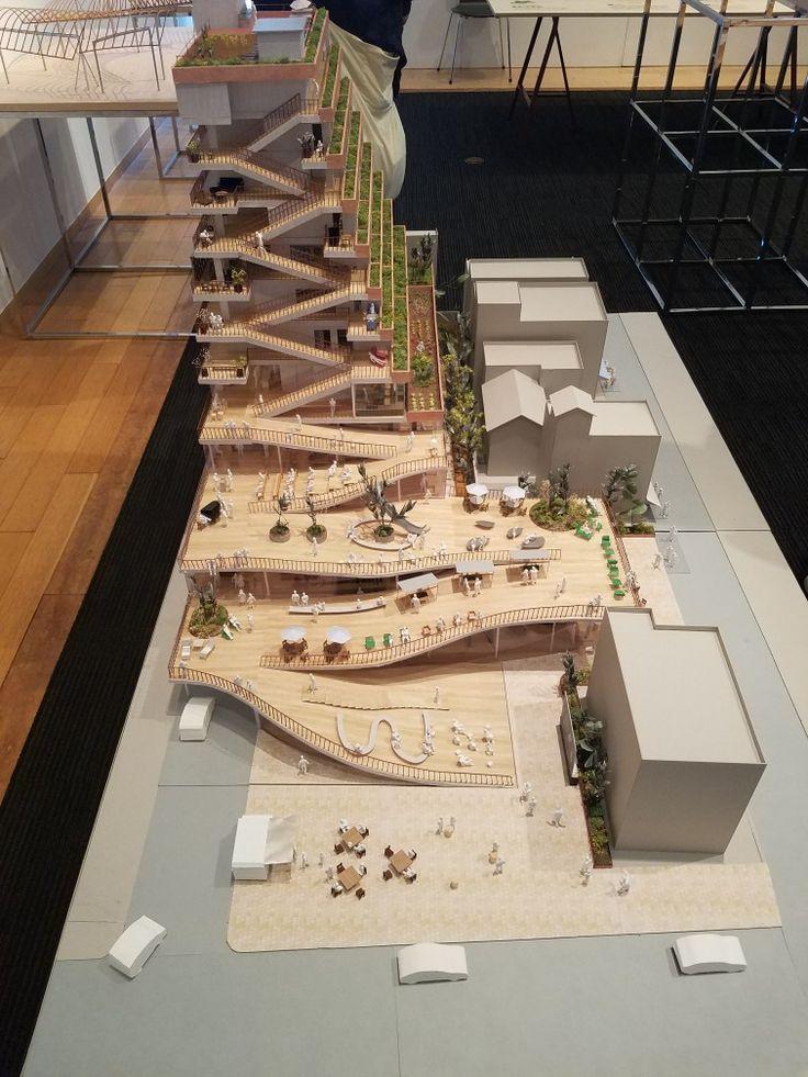 Landscape Architecture Model, Modern Architecture Design, Architecture  Office, Landscape Model, Architectural Models, Building Skin, Scale Model,  ...