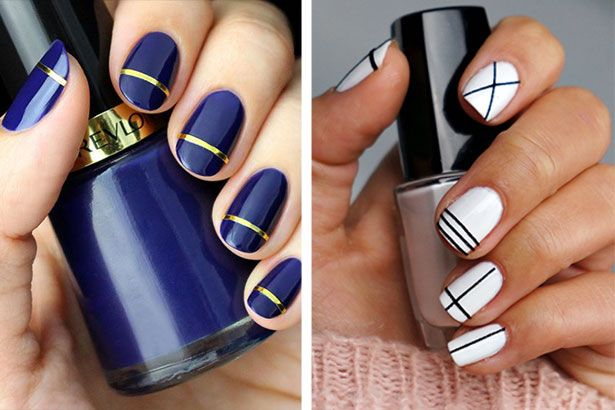 Best-simple-nail-art-designs-without-tools.jpg (615×410)