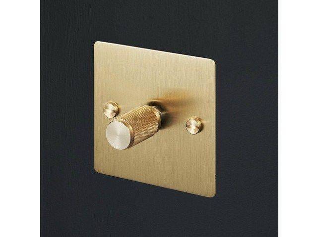 Téléchargez le catalogue et demandez les prix de Light switches - brass By buster + punch, interrupteur et prise électrique