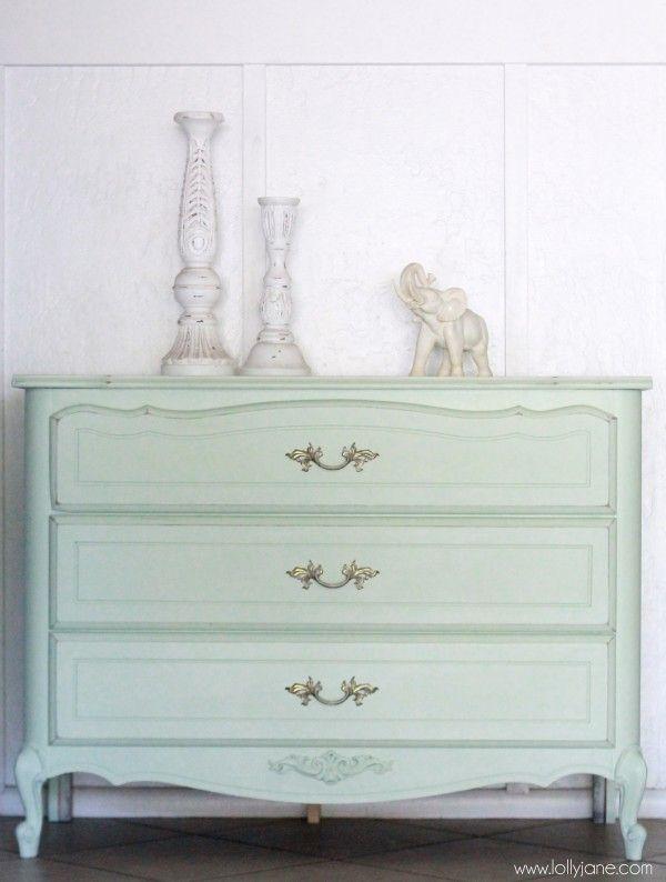 Mint dresser redo, painting tutoril