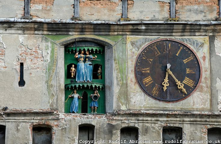 The Clock Tower - Sighisoara, Romania (detail)