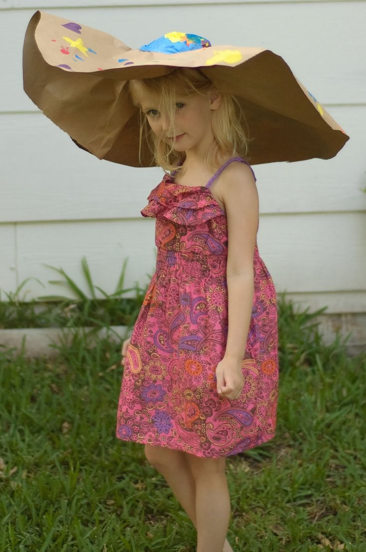 This Tissue Paper Hat Is All About Kid Made Simple Style