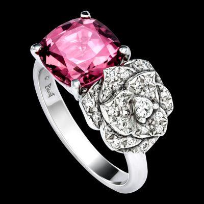 White gold Tourmaline Diamond Ring G34UR900 - Piaget Luxury Jewelry Online