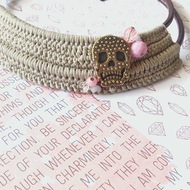 Mañana Raquel se va de concierto con su nueva gargantilla!!! Un modelo Especial by #silviamazonstudioss16  OH YEAH!!!! ✌✌✌ #beunique #bespecial #silviamazonstudio #statementjewelry #mediterraneanjewelry #coolcrochet #crochetdesigner #crochetisfun #heavycrochet #metalcrochet #handmadejewelry