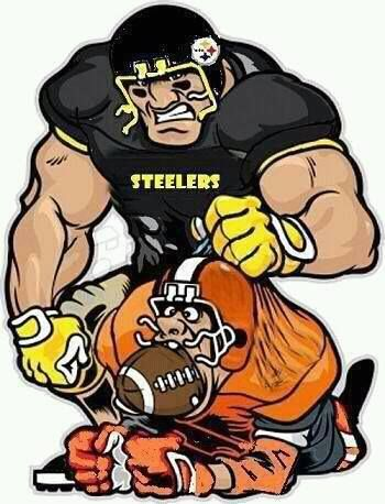 A Good Old Fashion STEELER Football Beat Down on the BROWNS!!!!