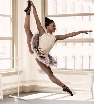 Michaela DePrince  |   a Sierra Leonean-American Ballet Dancer. Named Mabinty Bangura, she grew up as an orphan in Sierra Leone during the civil war.