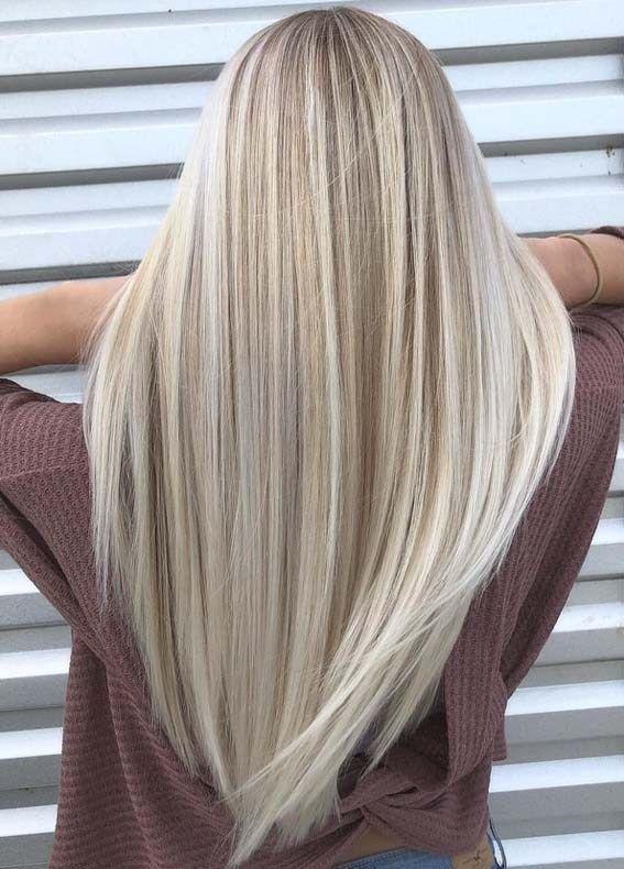 Verträumte Sandy Blonde Hair Color Shades für den Sport im Jahr 2018  #blonde ...