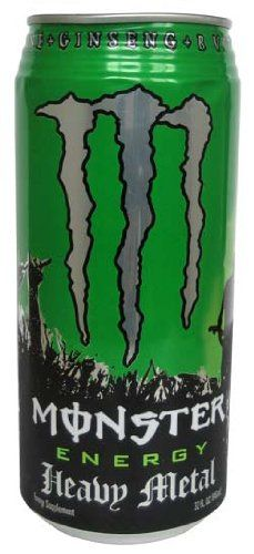 MONSTER ENERGY DRINK 32 OZ HEAVY METAL CAN « Blast Groceries