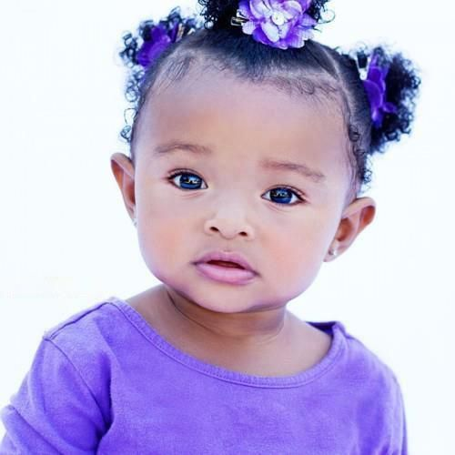Phenomenal 1000 Ideas About Black Baby Hairstyles On Pinterest Baby Girl Hairstyles For Women Draintrainus