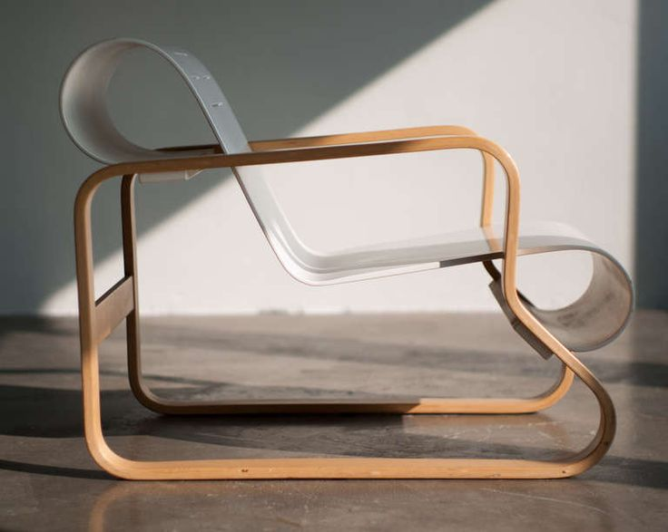 Paimio Chair, designed by Alvar Aalto in 1932.
