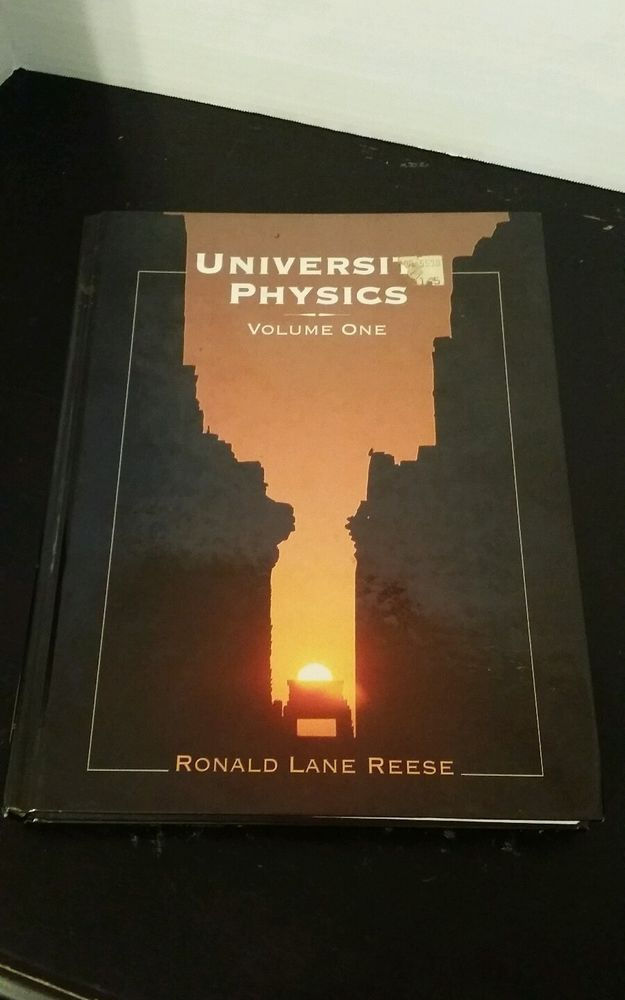 University Physics by Ronald Lane Reese, Hardcover, ISBN 9780534369613 Used in Books, Textbooks, Education | eBay