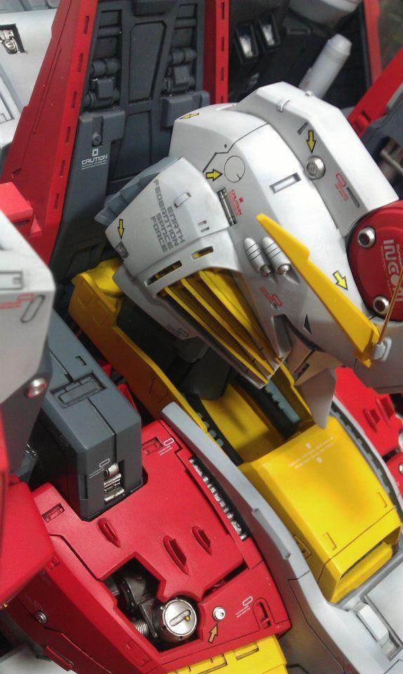utuldnsft:    Assembling G-System 1/35 EX-S Gundam: Full Photoreview No.62 Big Size Images!!!   gunjap