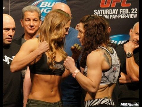 Ronda Rousey Stops Sara McMann in 66 Seconds for Fastest UFC Knockout
