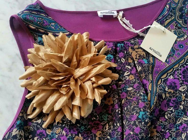 Top foulard + flower Armilla 💜