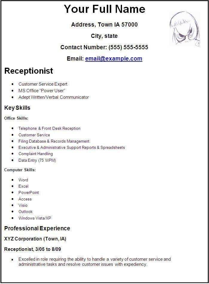 How To Make Resume Create A Resume Resume Template Free Job Resume Template Resume Temp In 2020 Job Resume Template How To Make Resume Job Resume