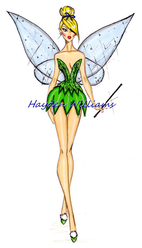 The Disney Divas collection by Hayden Williams: Tinkerbell