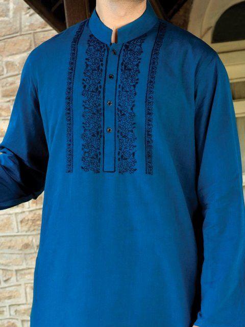 Junaid Jamshed Casual Men Kurta 2015 Collection 3