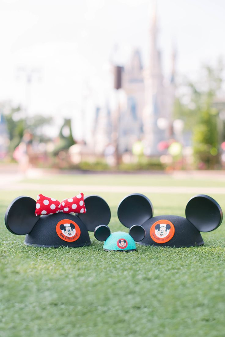 Frame It Photography - Families Baby Announcement #frameitphotography #babyrevel #baby #newbaby #babyannouncement #disney #minnieears #mickeyhats #babymickey#waltdisney #castle #disneyworld #disney