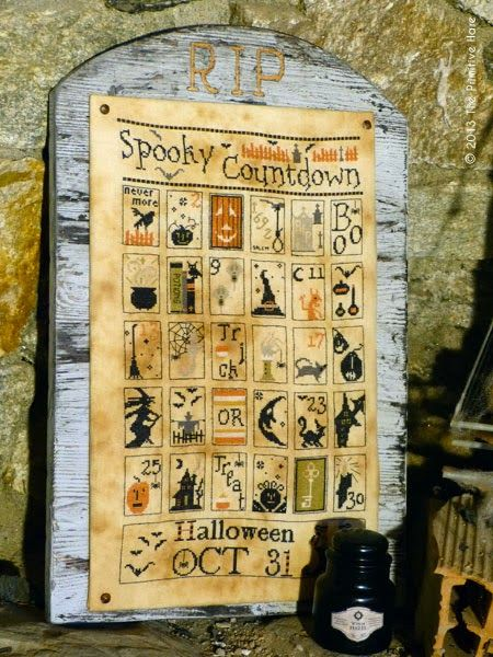 The Primitive Hare: NEW HALLOWEEN PATTERNS - 1st part -