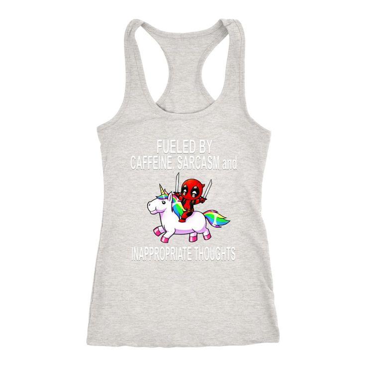 Baby Deadpool Funny Tank Top and T-Shirt #babytanktops