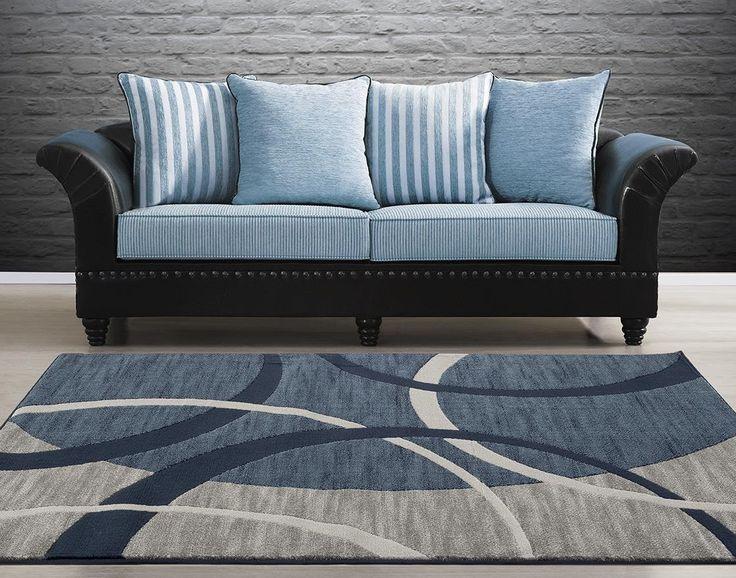 blue discount area - Area Carpets