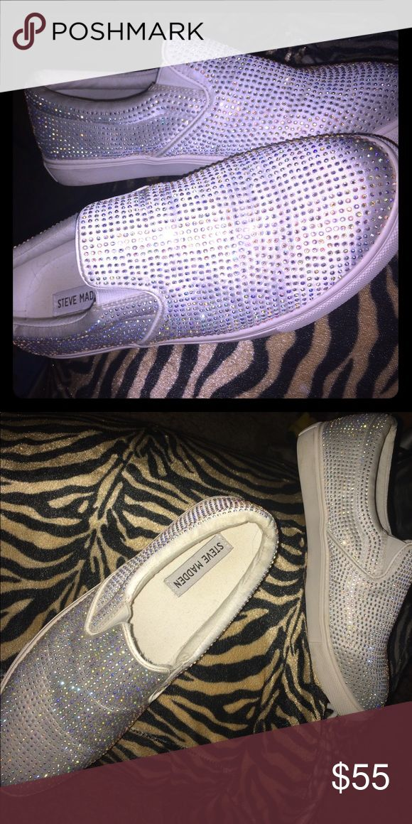 Steve Madden Studded Vans Brand new condition, high quality brand Steve Madden Shoes Sneakers