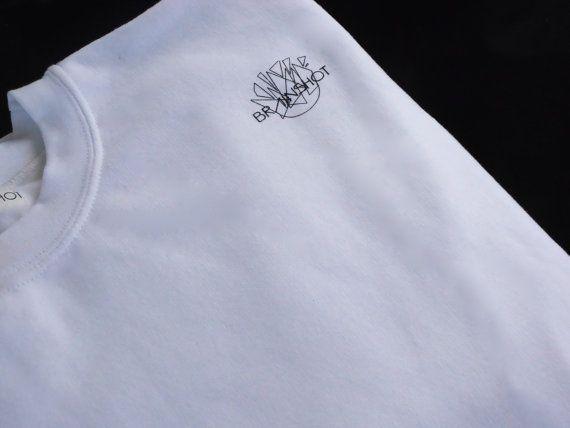 The Small Logo Sweatshirt by BRAINSHOT on Etsy