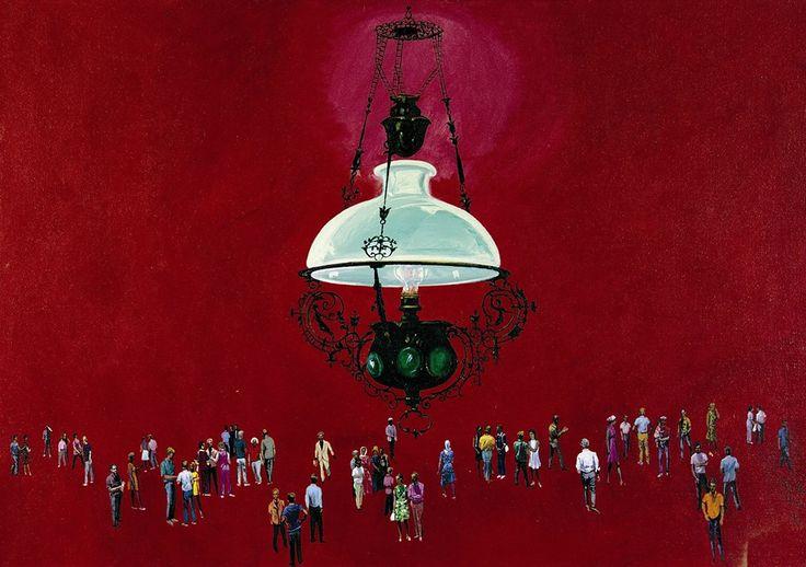 Red Lamp / Κόκκινη Λάμπα