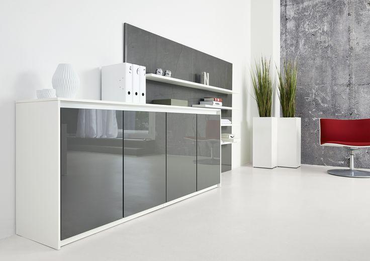 Schreibtisch Schrank Kombination 2021