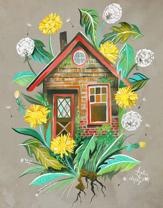 Dandelion House by Katie Daisy
