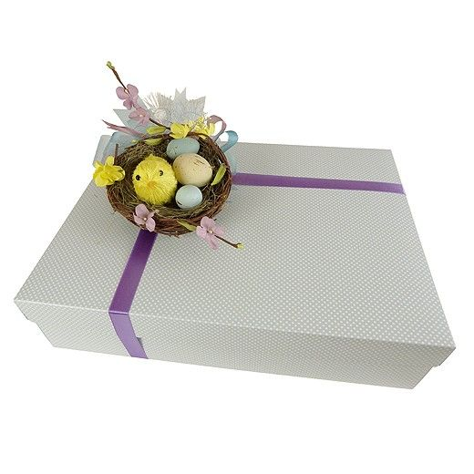 Easter Morning Gift Box Wrapped - Bestow Gifts Auckland