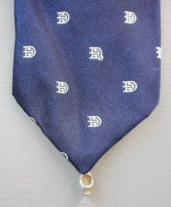 A little clog on this tie made in Holland