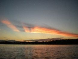 Atardecer en Punta del Este, Uruguay. Considerado uno de los atardeceres mas bellos del mundo.